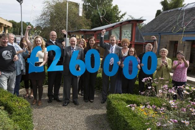Scotmid celebrates raising over £260,000 for Maggie's.