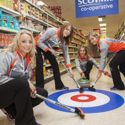 Team Muirhead visited Scotmid South Queensferry.