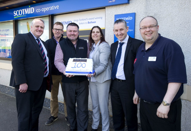 The 100th in-store bakery was opened in Scotmid Balloan.