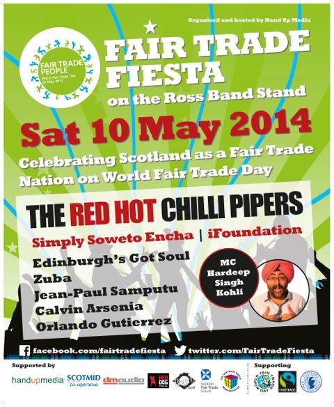 Scotmid is sponsoring Scotland's first Fair Trade fiesta.