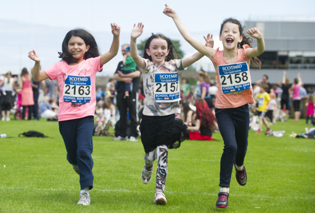 Over 3,500 people took part in the Scotmid School Run.