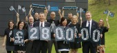 Prostate Cancer UK and Scotmid celebrate their achievement