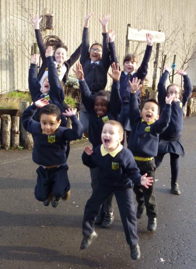 Elmvale Primary School pupils