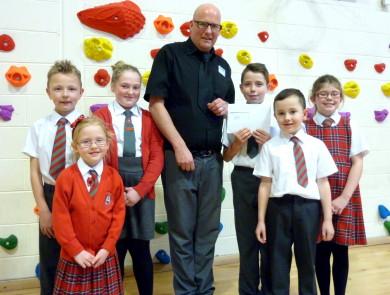 St Blane's Primary School pupils
