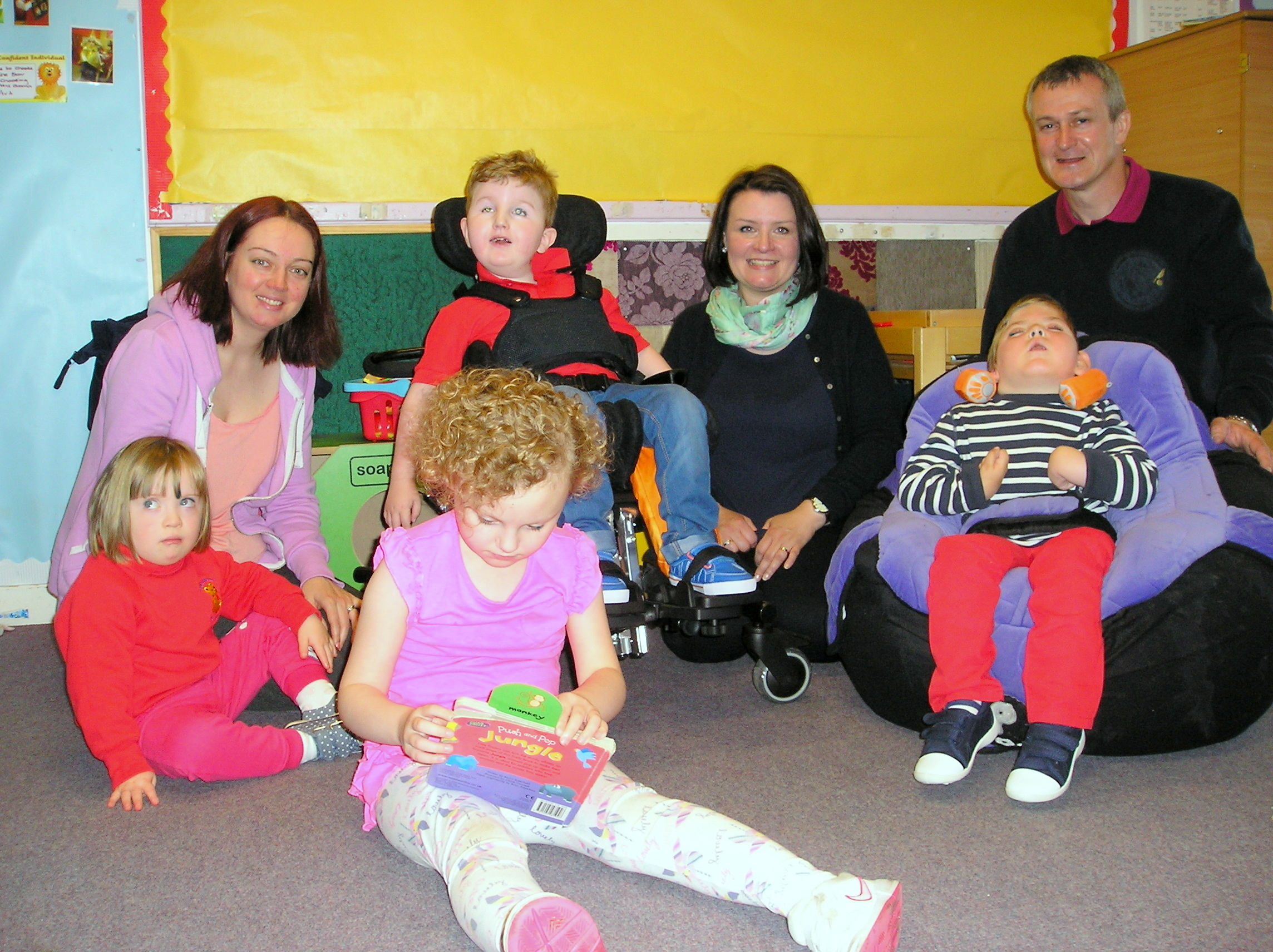 £500 grant to replace toys lost in fire.