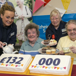 Celebrating £132,000 raised, towards our £250,000 target