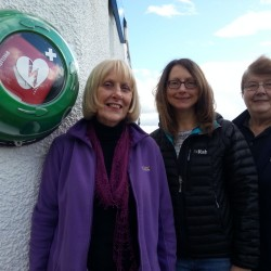 Mary and Sarah from Avoch & Killen Community Council with Sue from Scotmid, Avoch