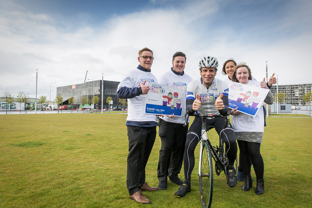 Scotmid Corporate shoot with Mark Beaumont